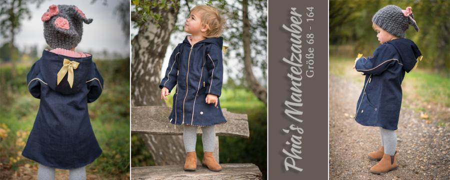 Kleines Mädchen in Phias Mantelzauber.